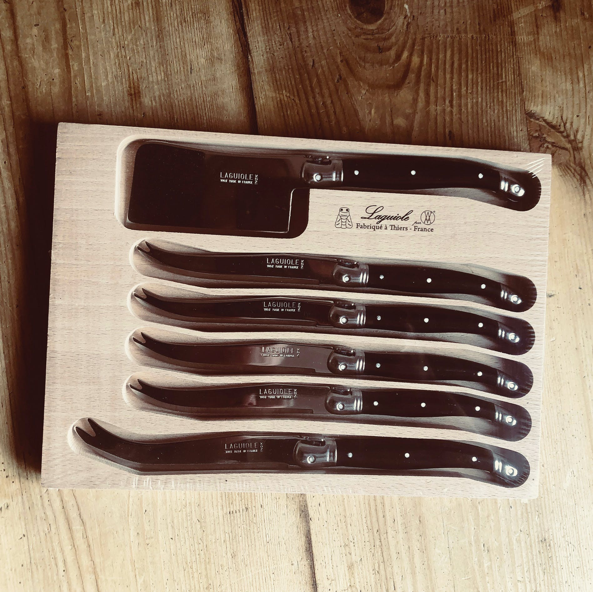 Classic French Knife Set