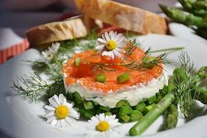 asparagus- Camabert Bake