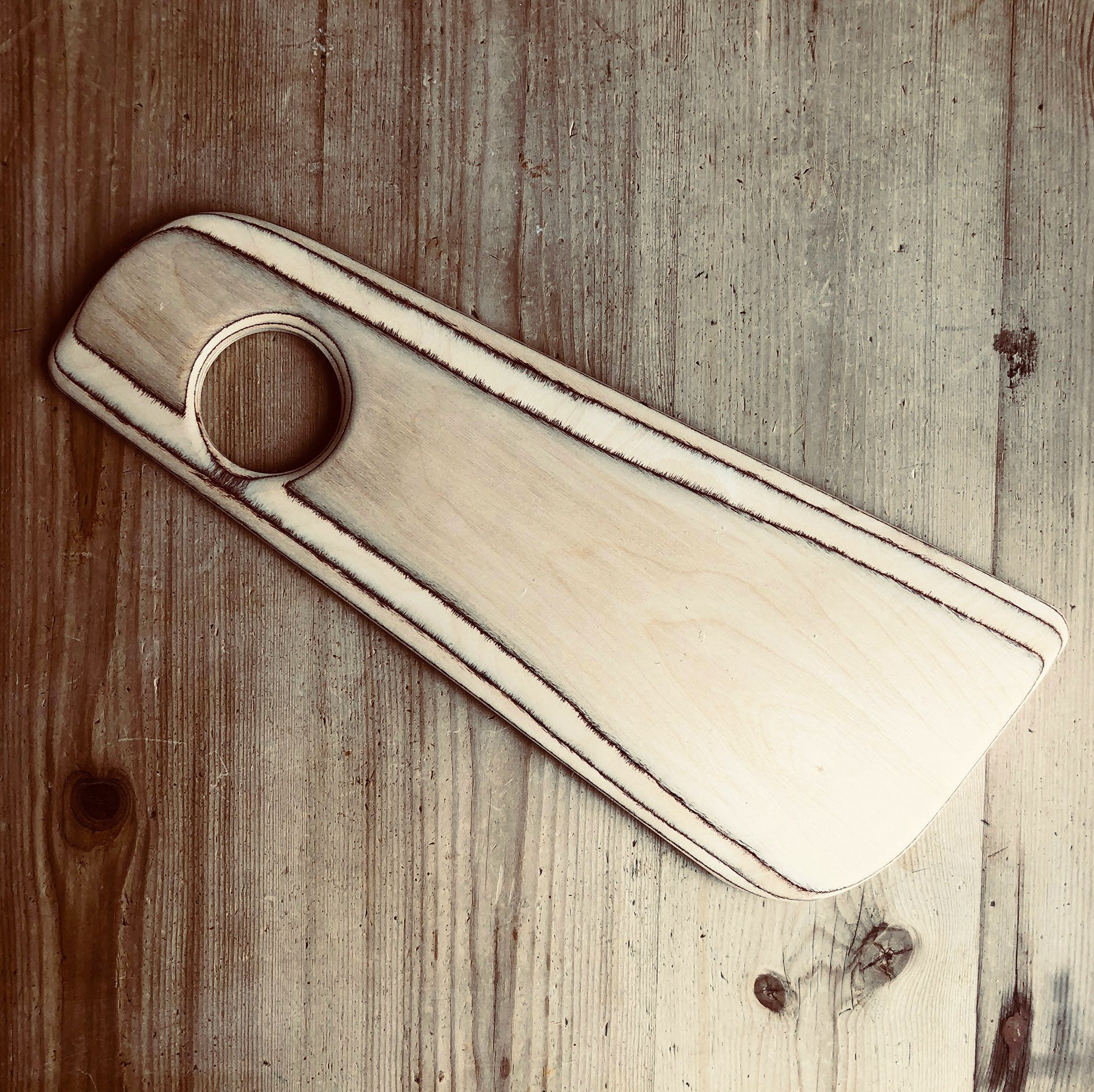 Handmade Wooden Cheese Board