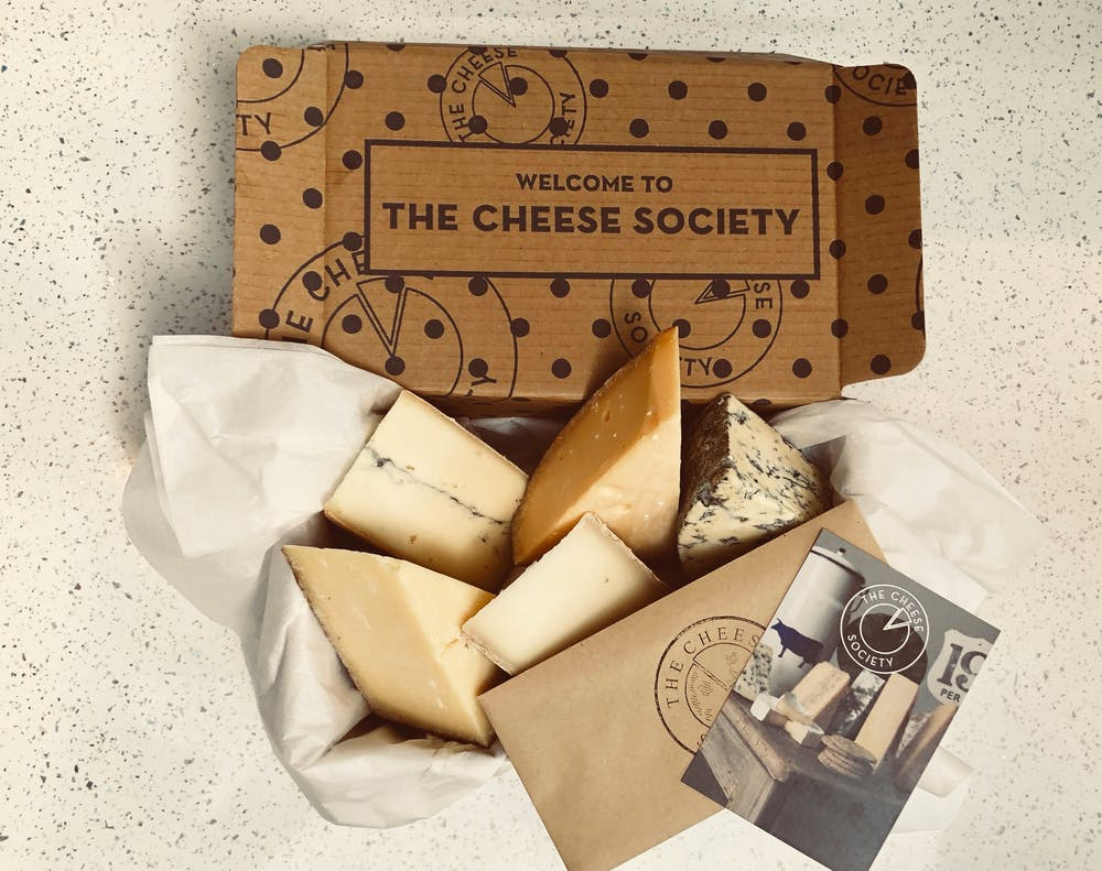 Cheese Club Four months gift pack