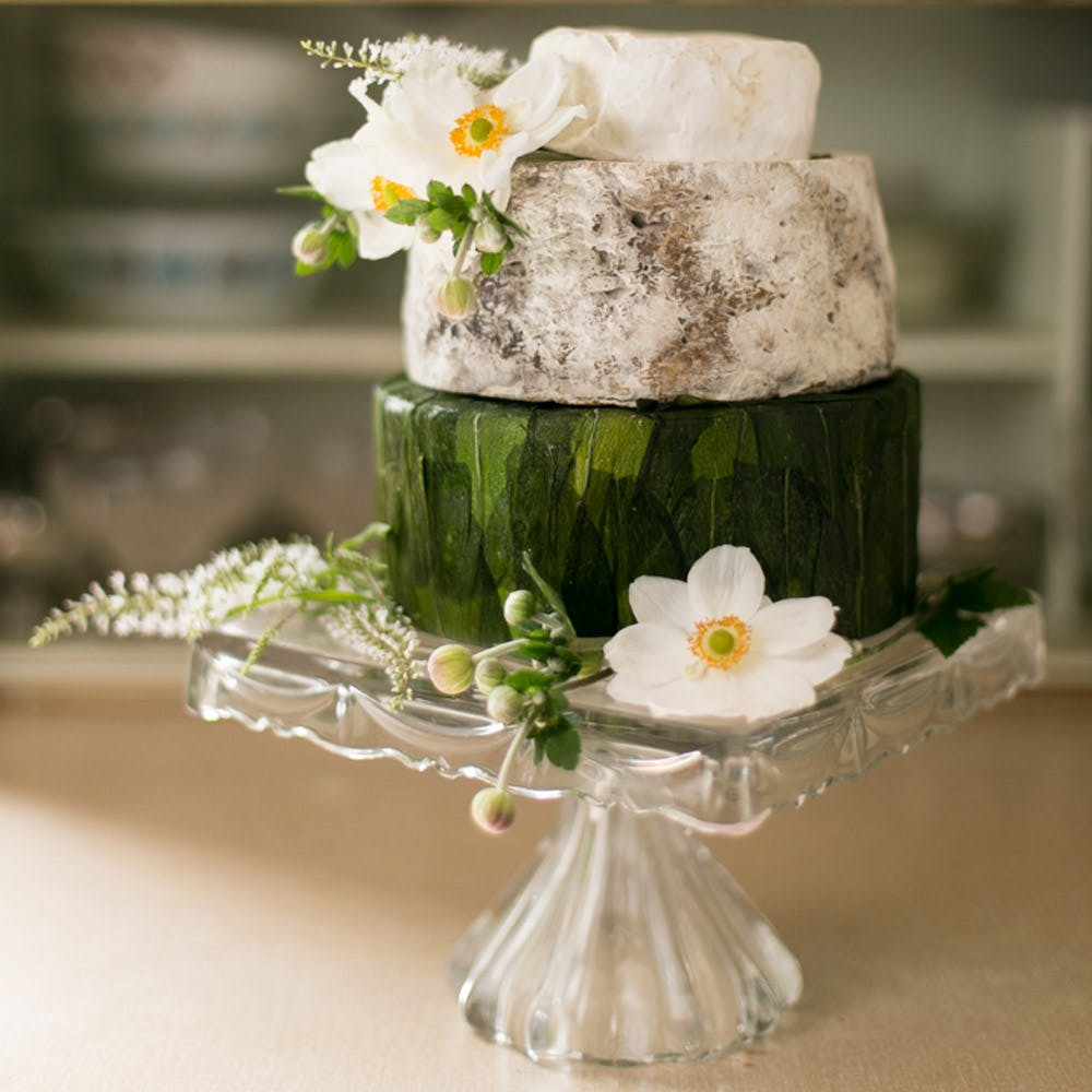 Cheese wedding cake-3 tier