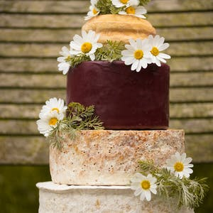 Cheese Wedding Cake -Something-Borrowed