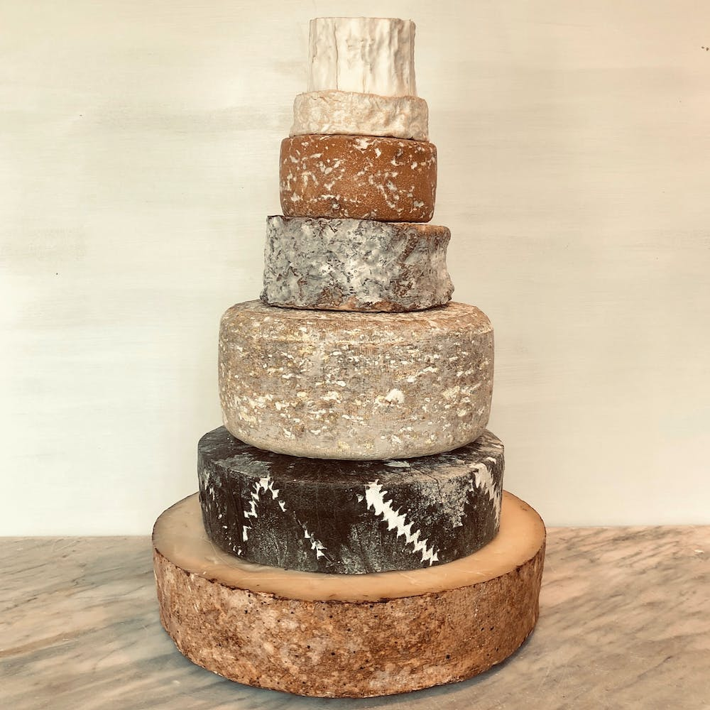 Cheese Wedding Cake 125-200 guests