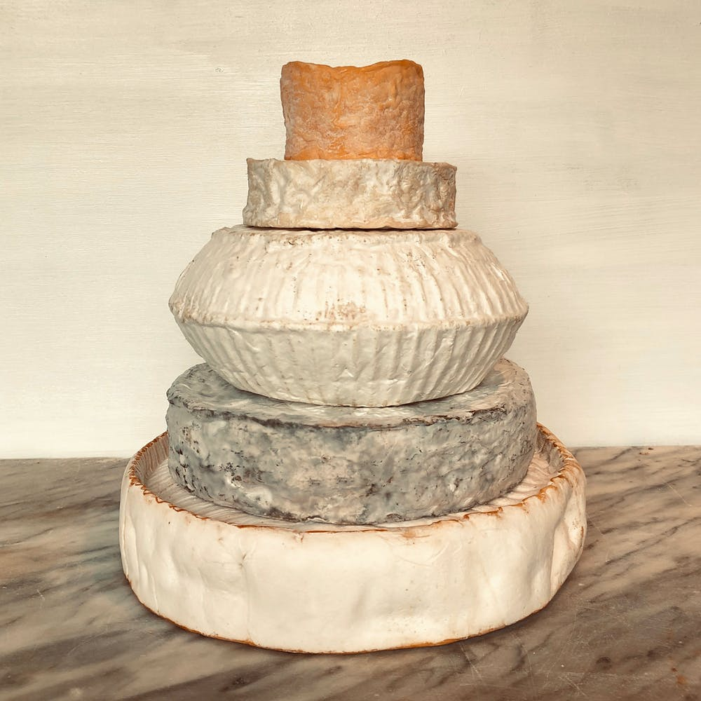 Cheese Wedding cake 40-60 guests