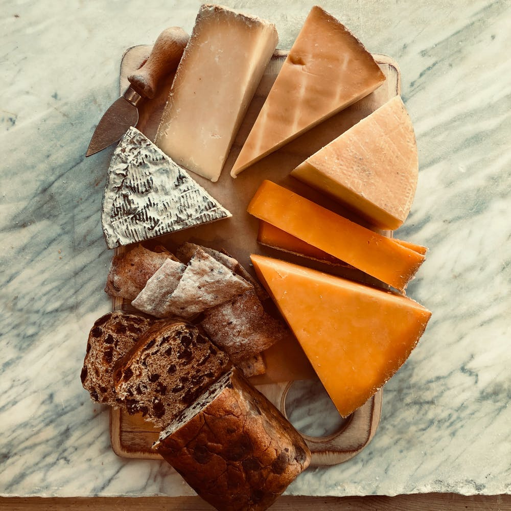 Taste of Lincolnshire cheeses