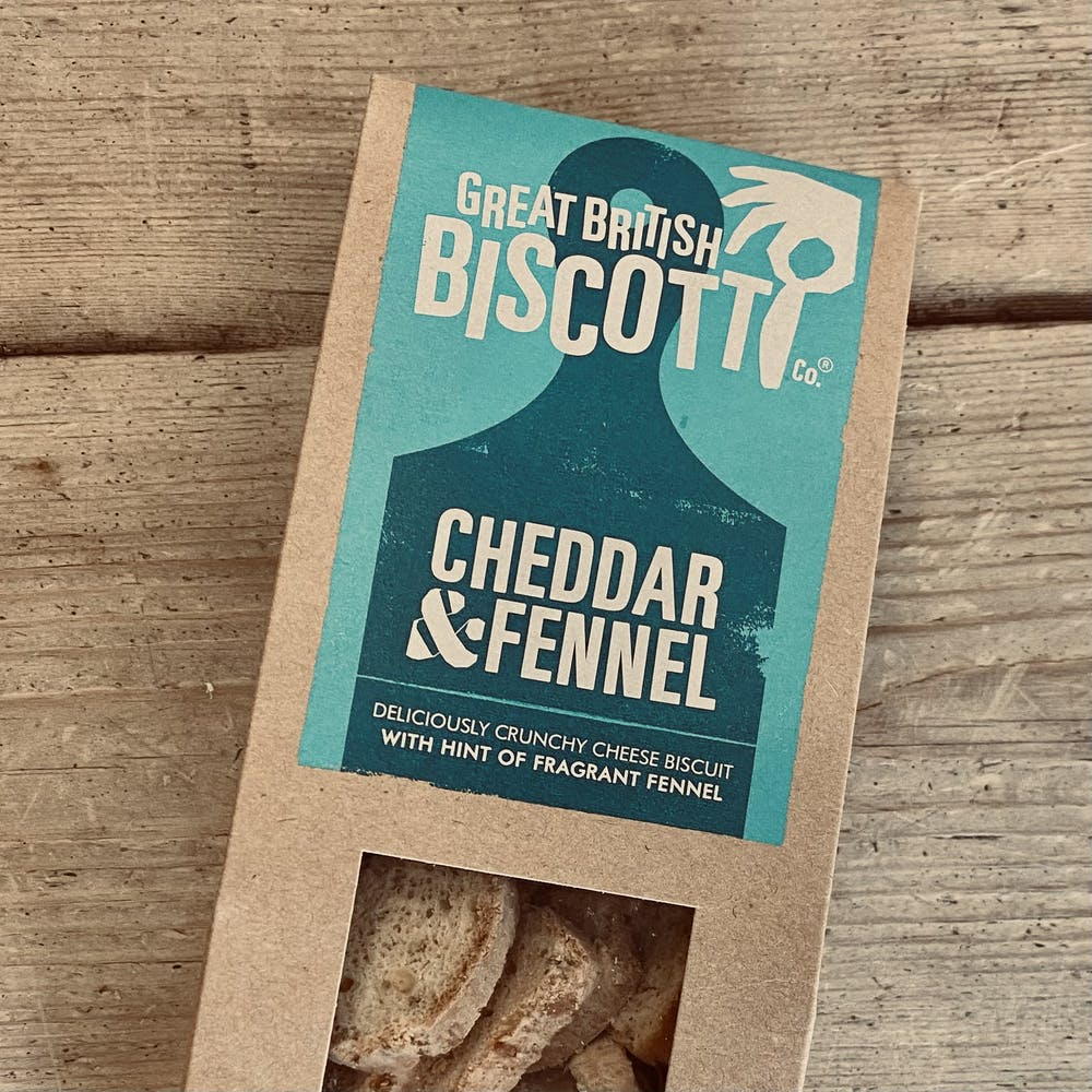 Cheddar & Fennel Biscotti FOR CHEESE