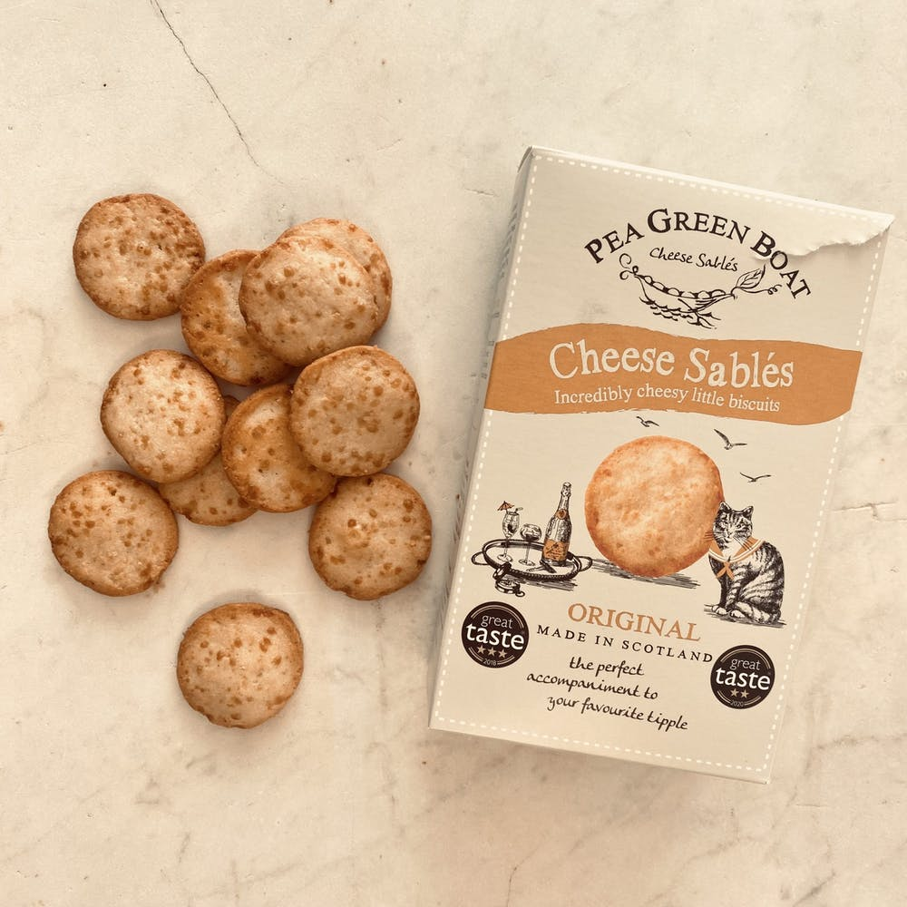 Cheese Sables Biscuits for cheese